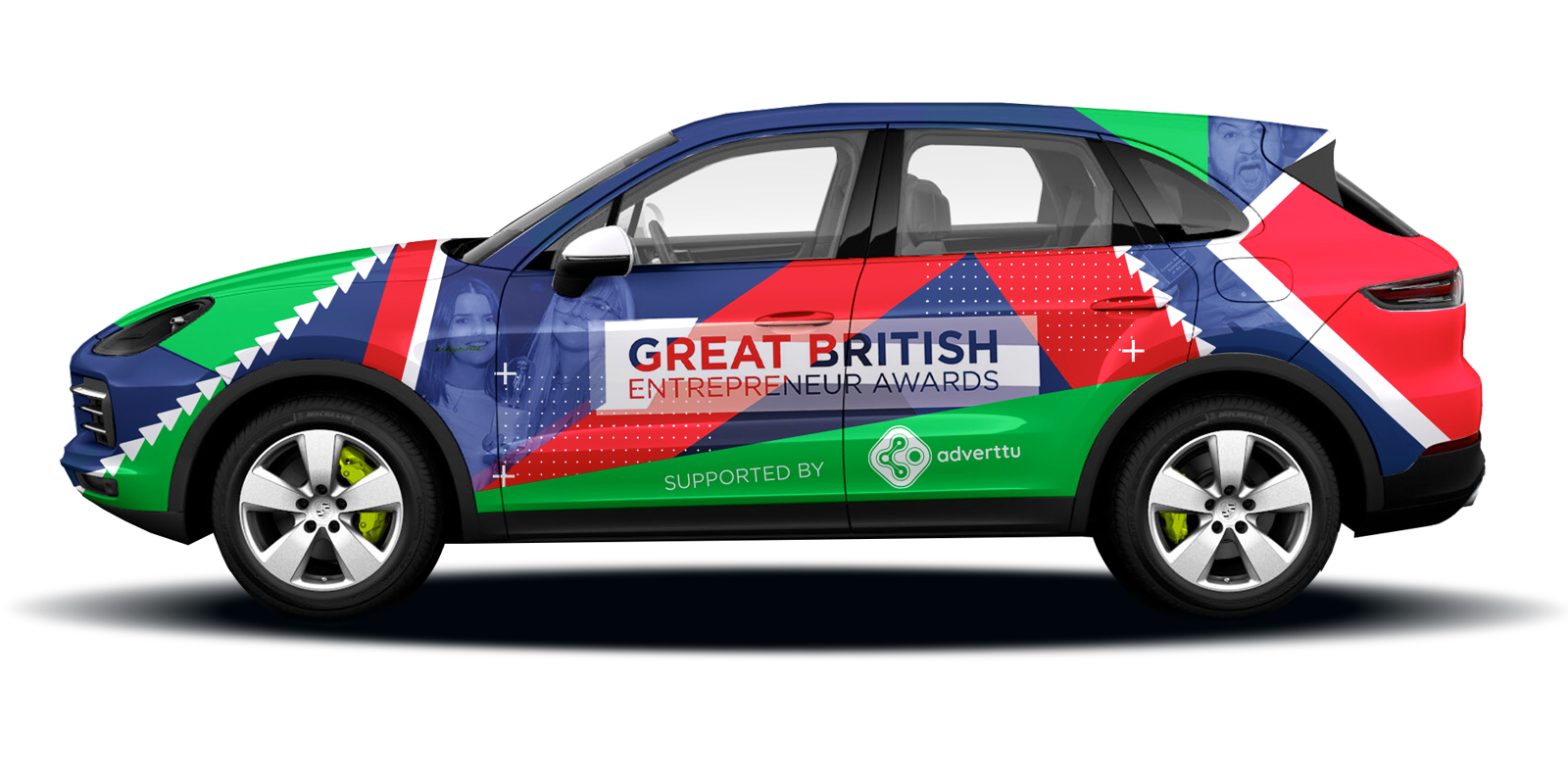 Great British Entrepreneur Awards mockup by Adverttu